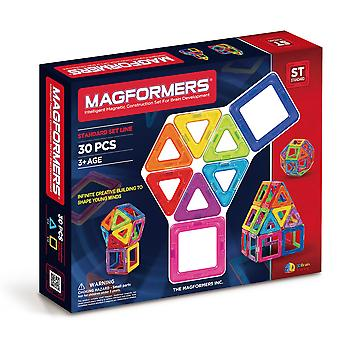 Magformers 30 PCS Set Magnetic Construction and Building Toy