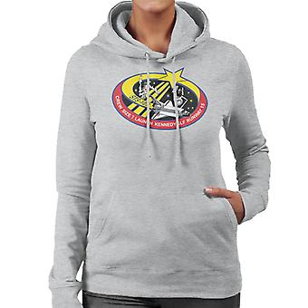 NASA STS 123 Space Shuttle Endeavour Mission Patch Women's Hooded Sweatshirt