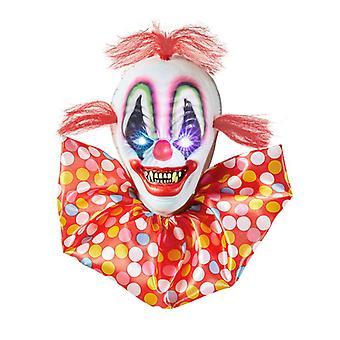 Clown horreur W/couleur changer clignotant Led yeux clairs