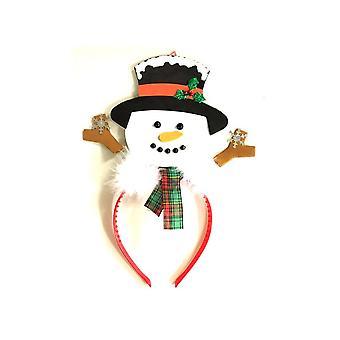 Sneeuwpop op hoofdband