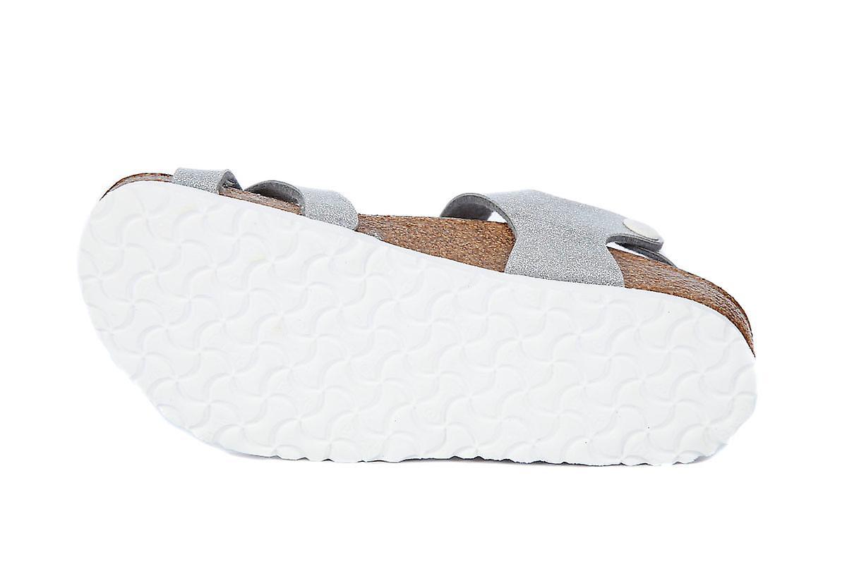 Birkenstock taormina silver sandals  3af88259fcf