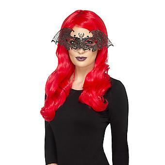 Metal filigree bat Eyemask