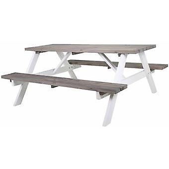 SenS-Line Simone picknickbank 180 cm - wit