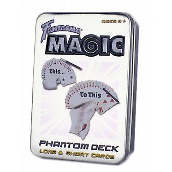 Phanton Deck Magic Cards Tricks Card Deck In Metal Tin