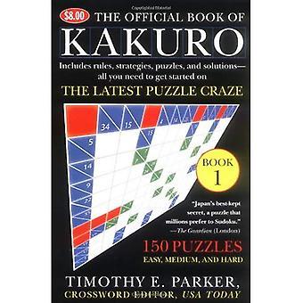Den officiella boken av Kakuro: bok 1