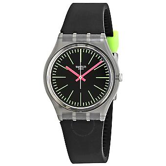 Swatch FLUO LOOPY Silicone Unisex Watch GM189