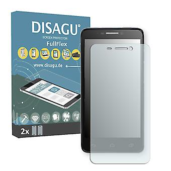 Alcatel one touch Idol 6030D screen protector - DISAGU FullFlex protector