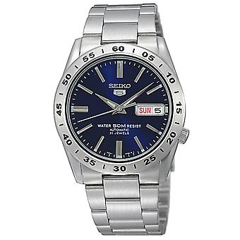Seiko 5 Automatic Blue Dial Stainless Steel Strap & Case Mens Watch SNKD99K1 37mm