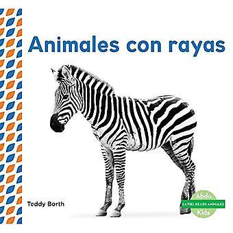Animales Con Rayas (Striped� Animals ) (Piel de los Animales (Animal Skins))