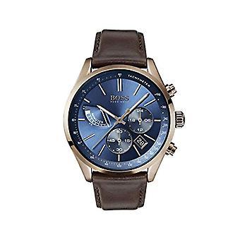 革バンド 1513604 と Hugo Boss クロノグラフ クォーツ メンズ腕時計