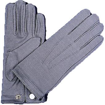 手袋ナイロン W スナップ メンズ グレー