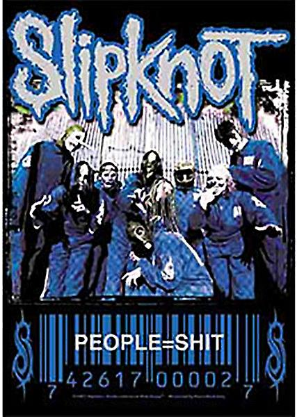 Slipknot People = Sh*t large textile poster       (mm)