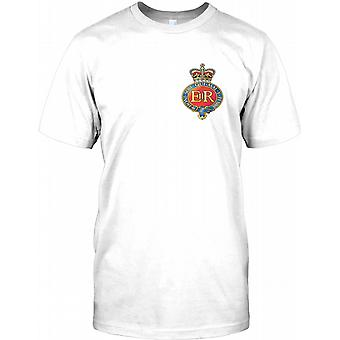 Britische Armee Blues And Royals - Guards - Brust Logo Kinder T Shirt