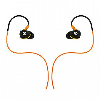 Headphones stereo sport jack 3.5 mm with micro Muvit sweat-resistant