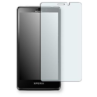 Sony Xperia T screen protector - Golebo crystal clear protection film