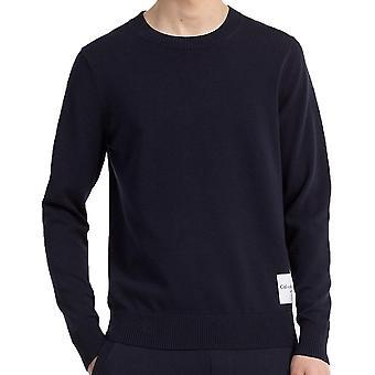 Calvin Klein Jeans menns Slim blanding bomullsgenser