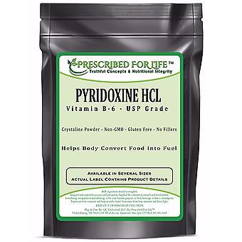 Pyridoxine HCL - USP Food Grade Vitamin B-6 Powder
