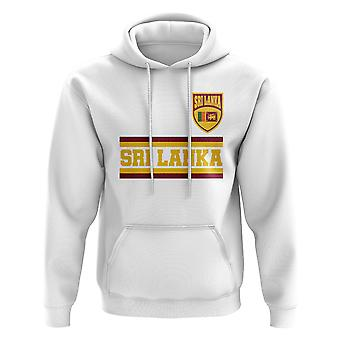 Sri Lanka Core Football Country Hoody (Weiß)