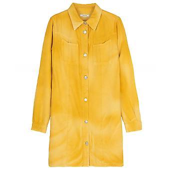 Vestido de camisa de mezclilla Ganni Hopewell