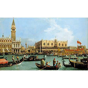 Genaamd Canaletto Venetie, de Bacino di, Canaletto, 60x36cm