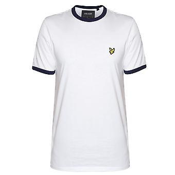 Lyle & Scott Lyle & Scott White Ringer T-Shirt