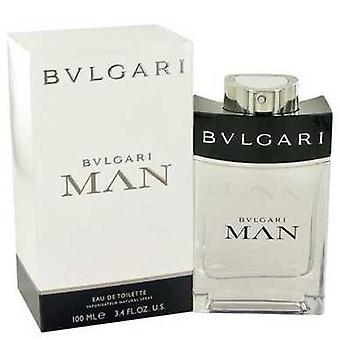 Bvlgari Man Von Bvlgari Eau De Toilette Spray 3.4 Oz (Männer) V728-481217