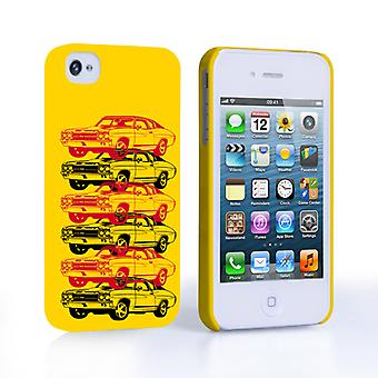 Caseflex Chevrolet Chevelle Classic Car iPhone 4 and 4S Case- Yellow