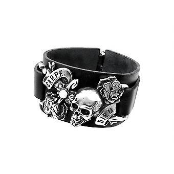 Alchemy Gothic Carpe Diem armband