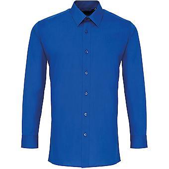 Premier - Chemise à manches longues Poplin 'Colours' Pour Homme
