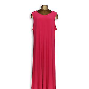Attitudes by Renee Petite Dress 2XP Como Jersey Bright Pink A347505