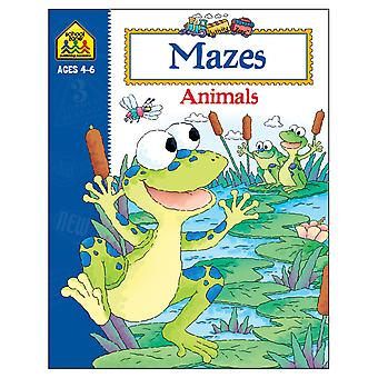 Activity Workbooks 32 Pages Mazes Animals Ages 4 6 Szact 02191