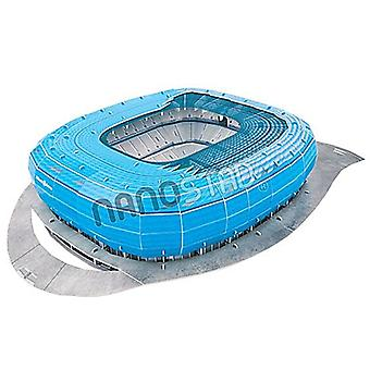 TSV 1860 Munich  Allianz Arena 3D jigsaw puzzle  BLUE (1860 colour) (kog)