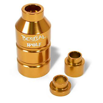 Bestial Wolf Aluminum footpeg Dorado (Outdoor , On Wheels , Protection And Accessories)