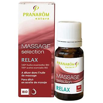 Pranarom Bio Massage slappe af 10Ml Seleccion.