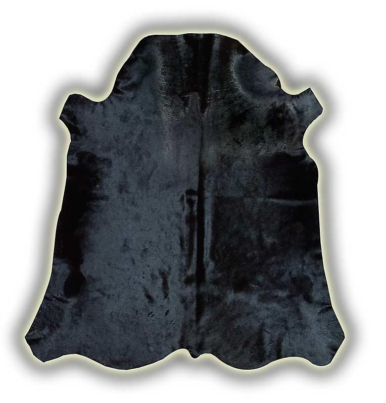 Rugs - Normandy Leather Cowhide - Black