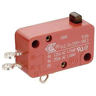 Microswitch 250 Vac 10 A 1 x On/(Off) Marquardt 01005.0904-03 momentary 1 pc(s)