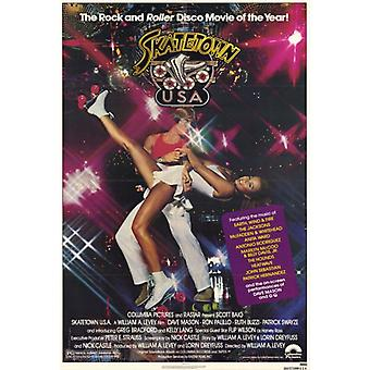 Skatetown USA Movie Poster Print (27 x 40)