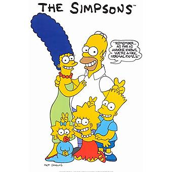 O Poster do filme dos Simpsons (11 x 17)