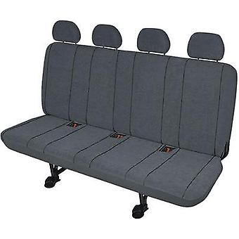 Seat covers 5-piece HP Autozubehör 22416 Polyester Grey