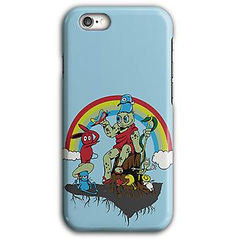 Rainbow Monster roligt tecken iPhone Case 5/5S 6/6S 6Plus/6SPlus | Wellcoda