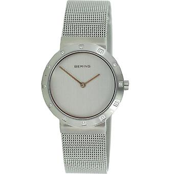 Bering ladies slim watch clock classic - 10629-000 Meshband