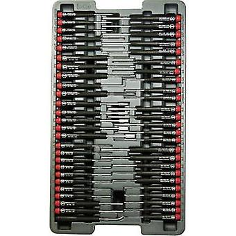 Electrical & precision engineering Screwdriver set 51-piece Wiha Pico Finish Slot, Phillips, Allen, Hex head, TORX sock