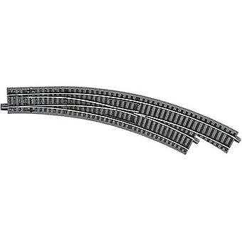 H0 Roco GeoLine (incl. track bed) 61155 Curved point, Right