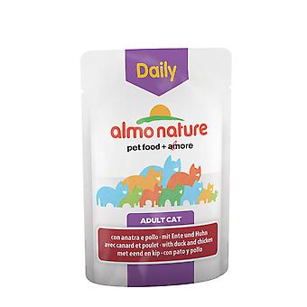 Almo Nature Daily Menu Cat With Chicken And Duck 70g (Pack of 30)