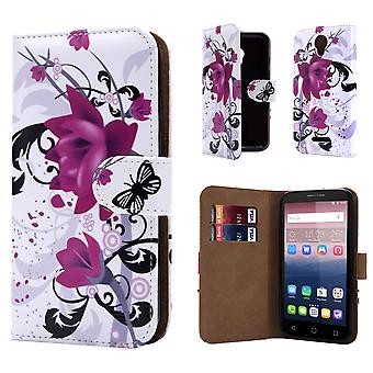 Design book for Alcatel Pixi 4 (5.0) 4G OT-5045 - Purple Rose