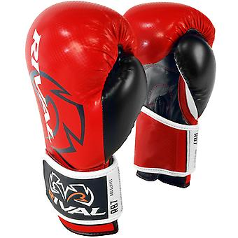 Rival Boxing RB7 Fitness+ Hook and Loop Bag Gloves - Red/Black