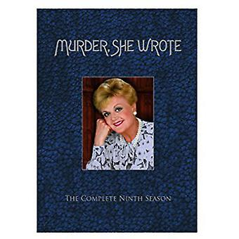 Murder She Wrote: Season Nine [DVD] USA import
