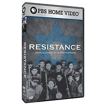 Resistance: Untold Stories of Jewish Partisans [DVD] USA import