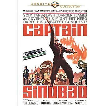 Kapitein Sindbad [DVD] USA importeren