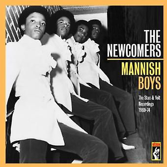 Newcomers - Mannish Boys [CD] USA import
